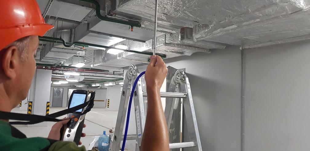 Пуско-наладка систем вентиляции