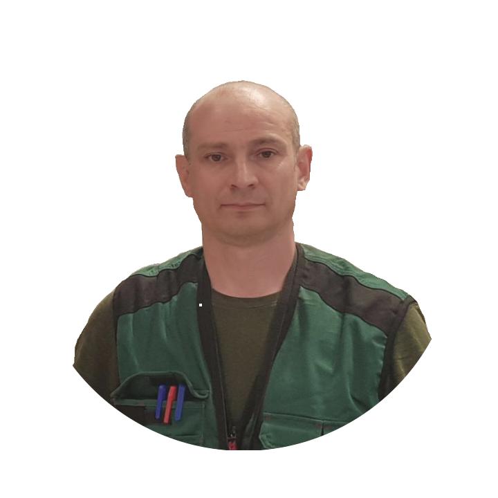 Ведущий инженер вентиляционных систем Киносян Александр Валериевич