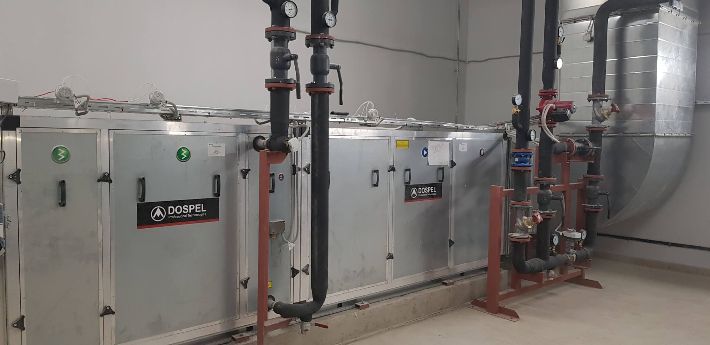 Пуско-наладка приточных систем вентиляции.