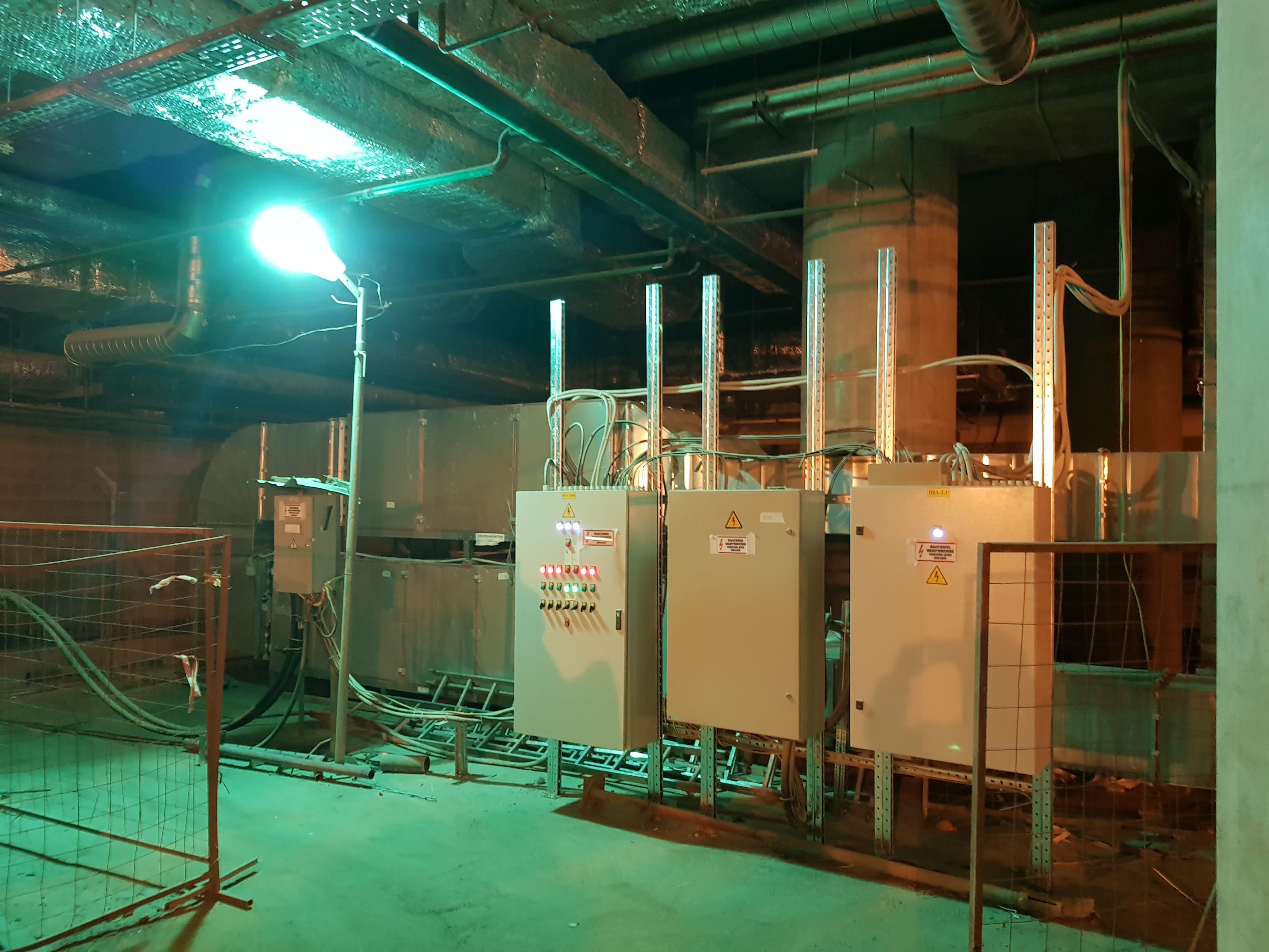 Вентиляция промышленных зданий и сооружений