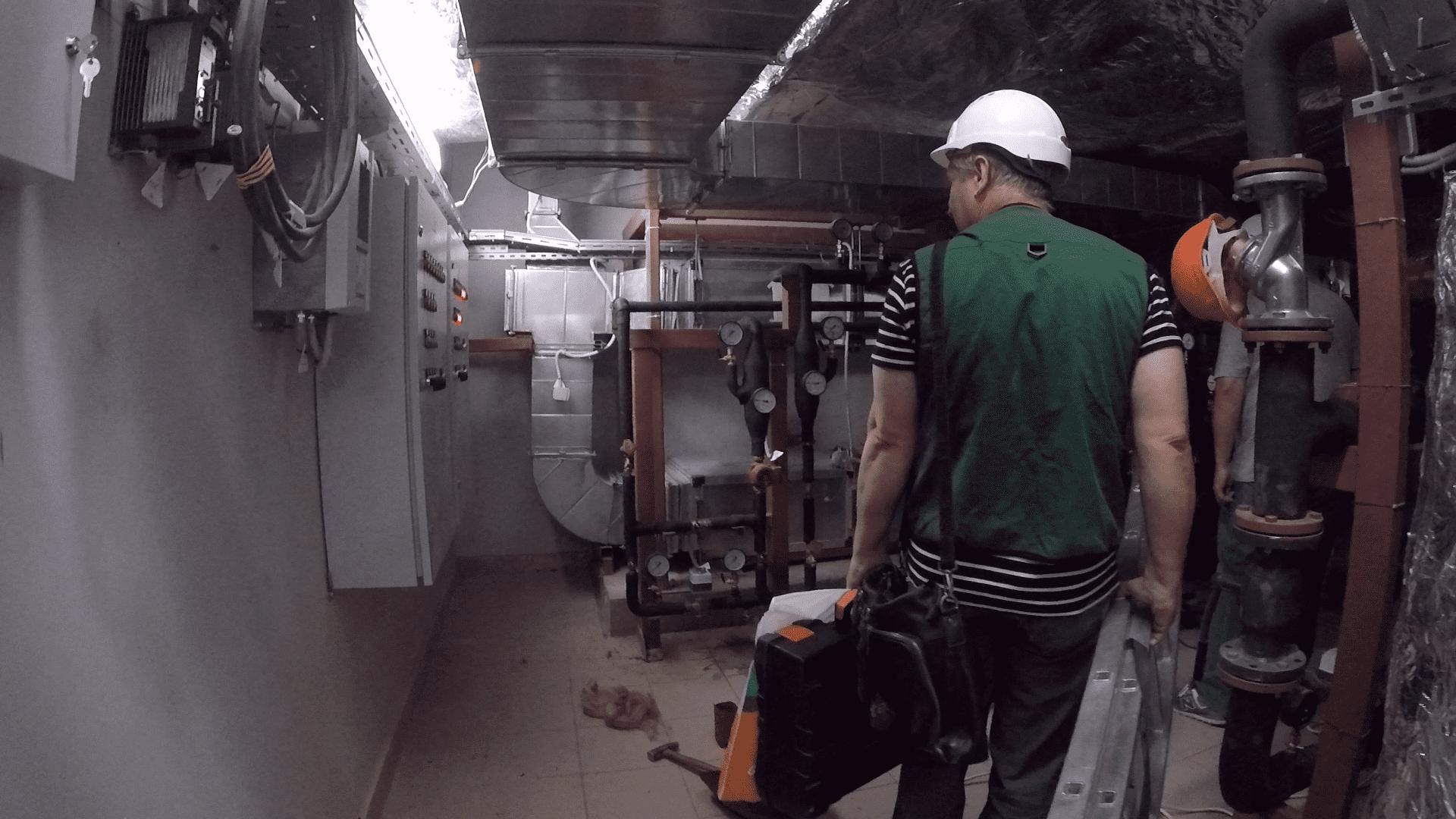 Проверка работоспособности системы вентиляции