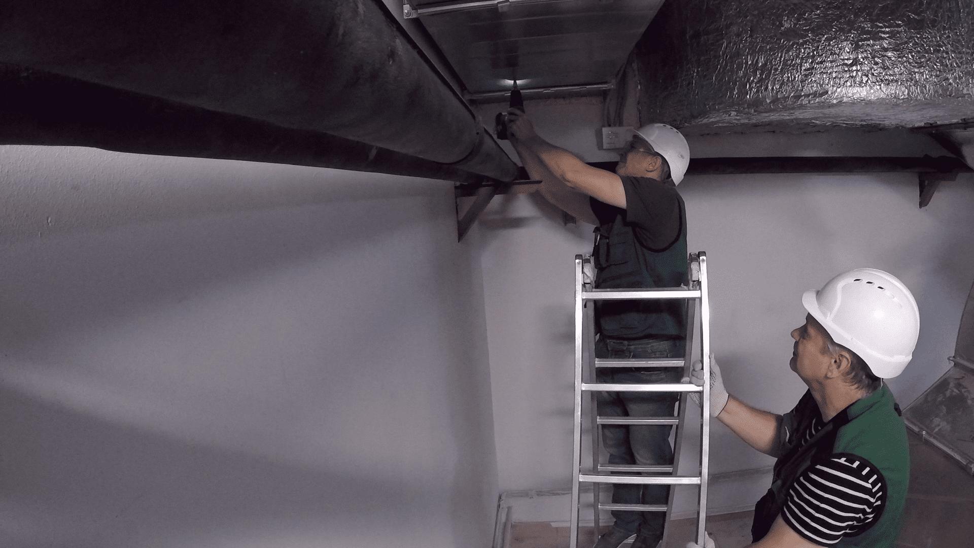 Проверка эффективности работы системы вентиляции