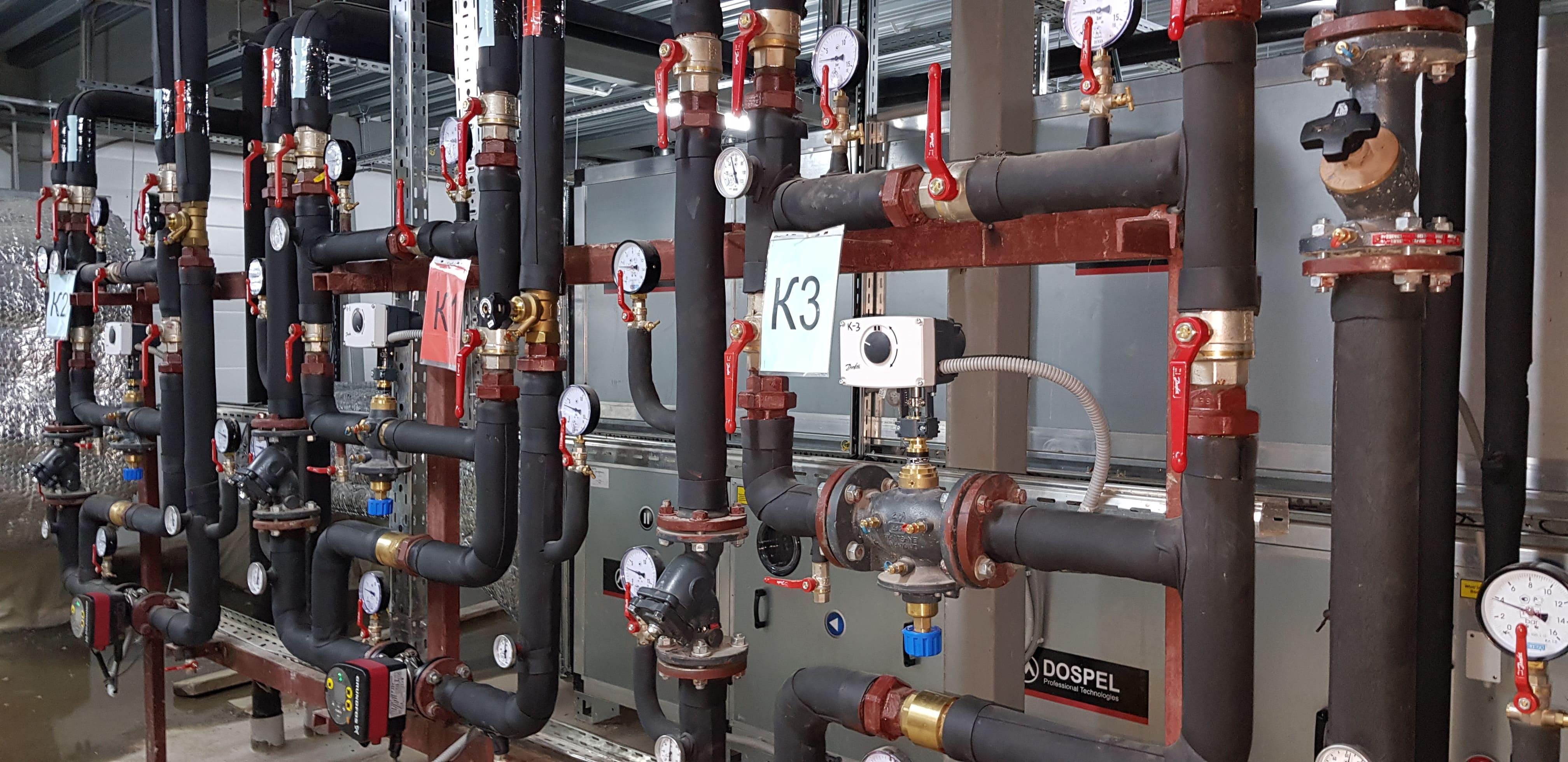 Ремонт и обслуживание систем вентиляции и кондиционирования