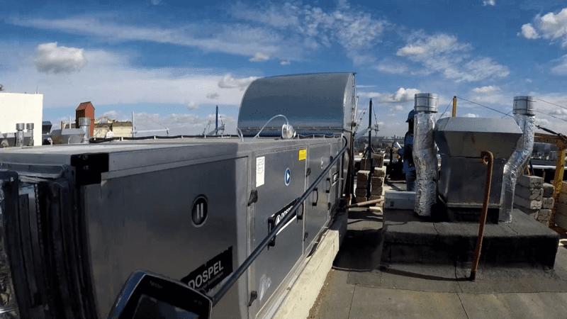 Ремонт приточно вытяжной системы вентиляции