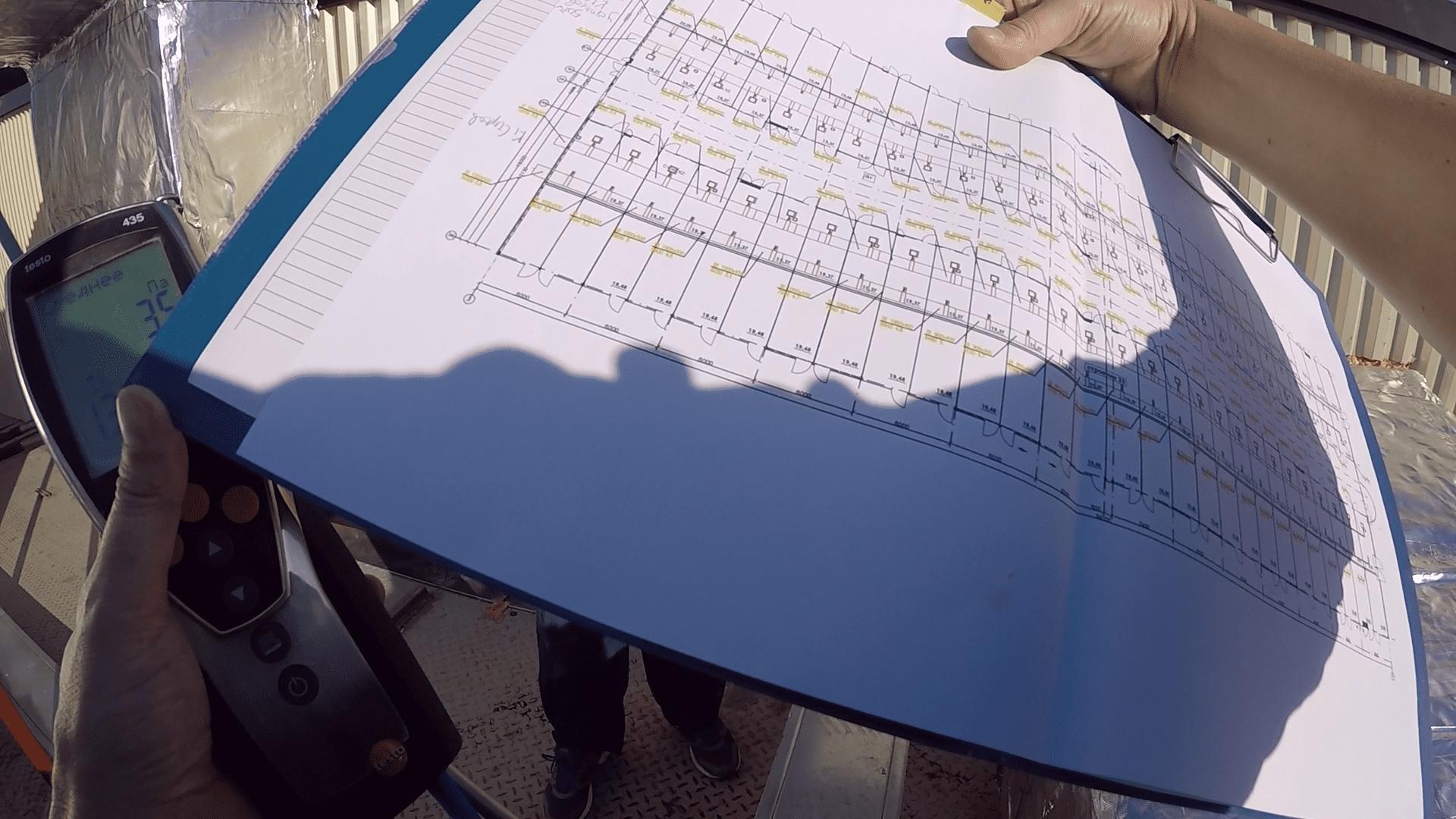 План общеобменной вентиляции ТЯК Москва