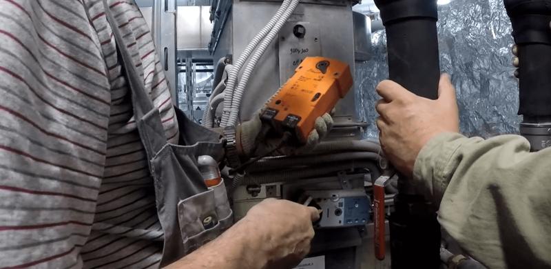 Проверка работоспособности огнезадерживающих клапанов.