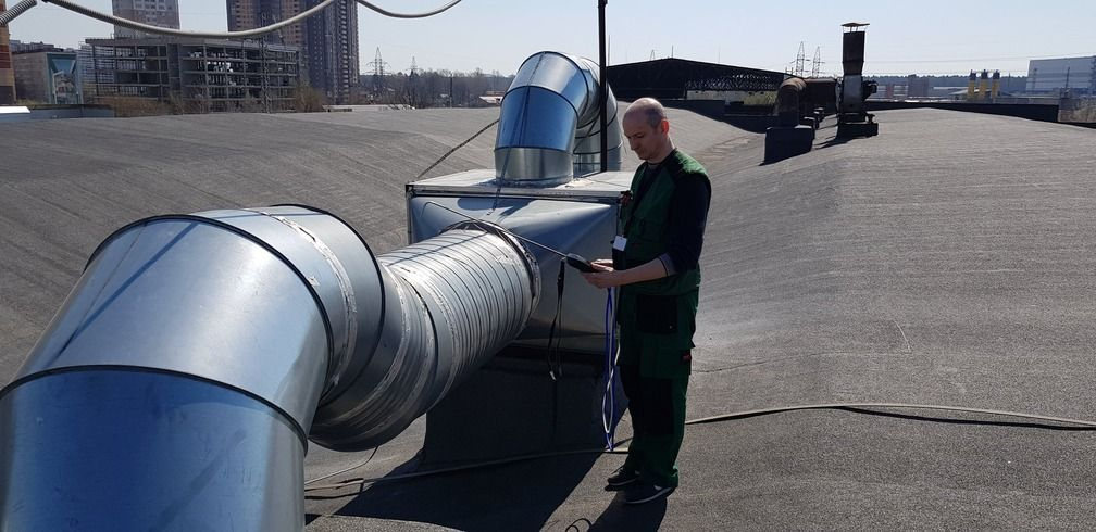 Груглые воздуховоды систем вентиляции